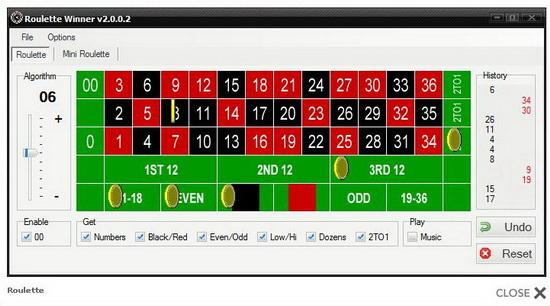 Программа для вычисления чисел в рулетке казино онлайн интернет казино рулетка секрет игры
